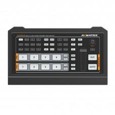 AVMatrix HVS0402U 4-Channel HDMI Streaming Switcher