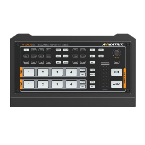 AVMatrix HVS0402U 4-Channel HDMI Streaming Switcher