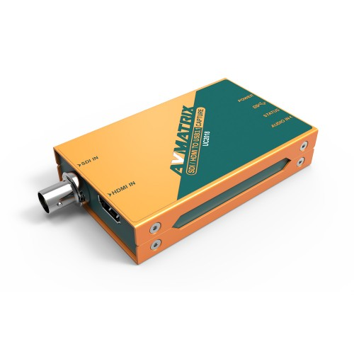 AVMatrix UC2018 - HDMI/SDI to USB 3.1 TYPE-C Video Capture