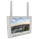 "*CLEARANCE* Lilliput 339/DW (White) - 7"" IPS FPV monitor with auto search dual receiver"