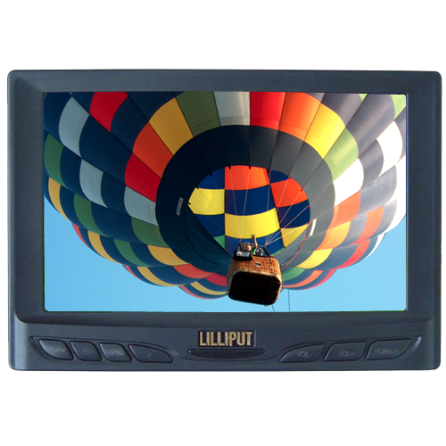 "*CLEARANCE* Lilliput 629GL-70NP/C - 7"" VGA monitor"
