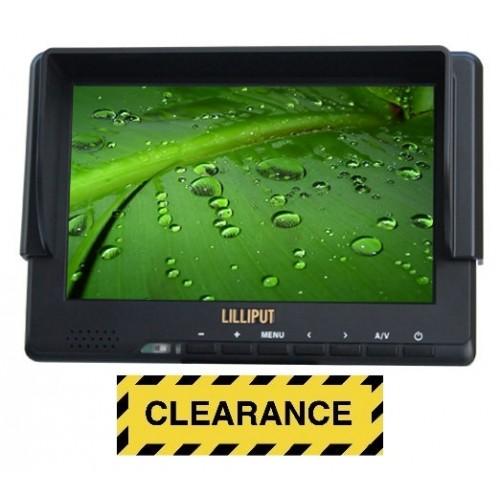 """Lilliput 667GL-70NP/H/Y - 7"""" HDMI field monitor"""