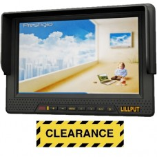 """Lilliput 668GL-70NP/H/Y - 7"""" HDMI field monitor - with built in battery"""