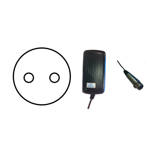 Replacement 12V XLR Adaptor (EU Plug Fitting)