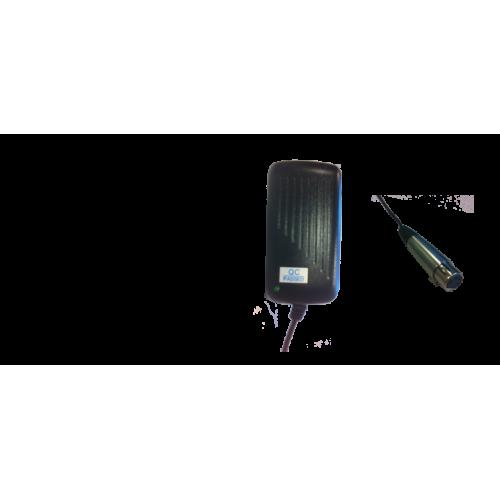Replacement 12V XLR Adaptor (US Plug Fitting)