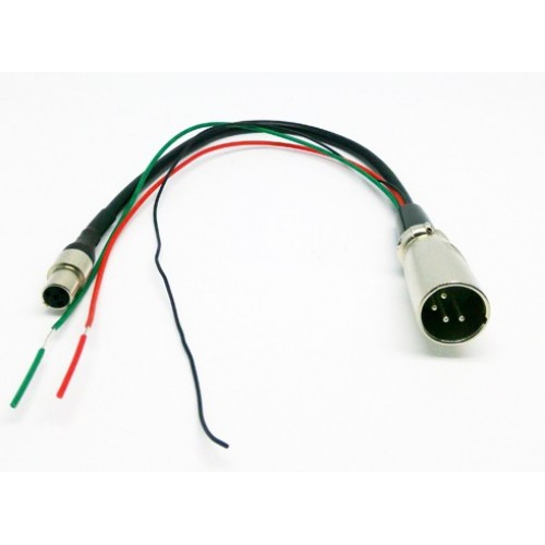 Mini XLR For Lilliput Monitor TM-1018 Series