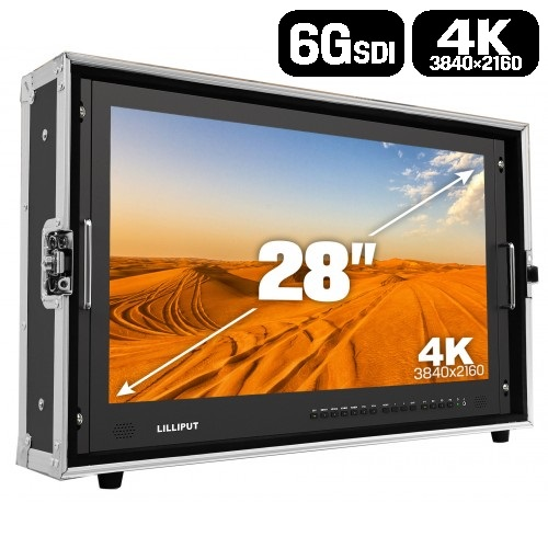 """Lilliput BM280-6G - 28"""" 4K HDMI 2.0 / 6G-SDI monitor"""