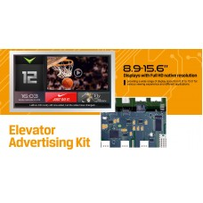 "Lilliput Elevator Advertising Kit - 8.9"" to 15.9"""