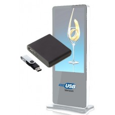 USB HD Plug and Play Looping Media Player for Digital Signage