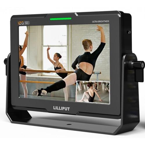 "Lilliput Q7-12G - 7"" 12G-SDI 2000 nits Ultra Brightness On-Camera Monitor"