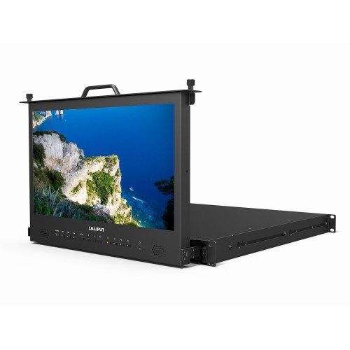 "Lilliput RM-1730S - 17.3"" 1U Rackmounted Drawer Monitor with HDMI / SDI Input"