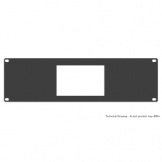 "19"" 4U Single Panel Rackmounting Bracket - For OF669 monitor"
