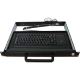 Liymo 1U Rackmount keyboard drawer - with trackball