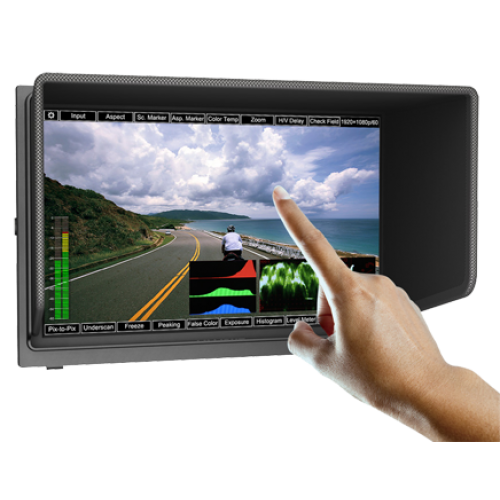"Lilliput TM1018/O/P - 10"" HDMI Field monitor with Touchscreen Menu"