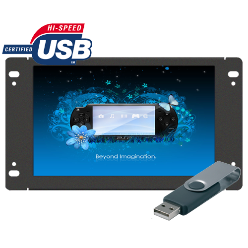"Lilliput AD1001/USB - 10"" openframe USB advertisement player"