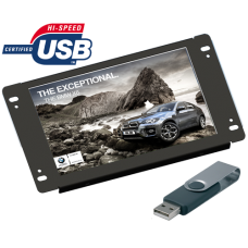 "AD701/USB - 7"" openframe USB advertisement player"