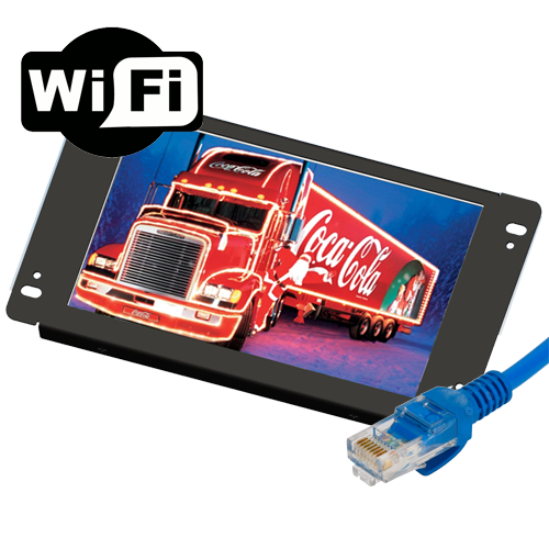 "Lilliput AD801/LAN - 8"" openframe network advertisement player"