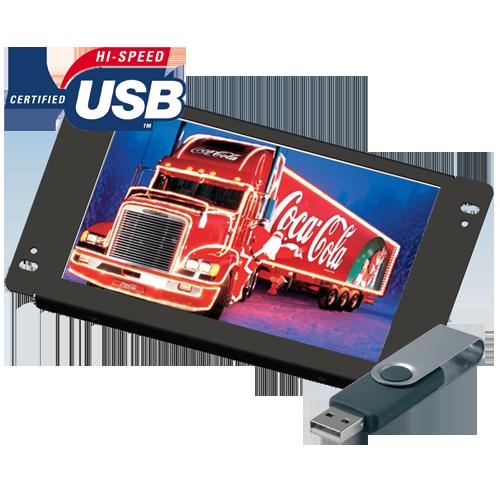 "Lilliput AD801/USB - 8"" openframe USB advertisement player"