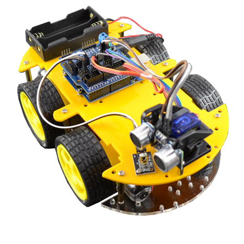 Bluetooth multi function intelligent smart car kit for arduino robot bluetooth intelligent remote control car kit malvernweather Images