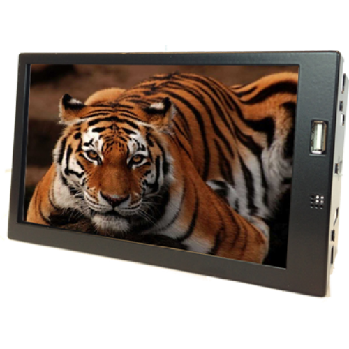 "ByByte / Liymo 7"" Metal case Double DIN HDMI Touchscreen monitor"
