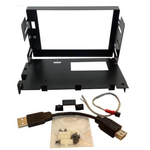 Liymo DD669 Frame - Metal Double DIN frame for Lilliput 669 monitor