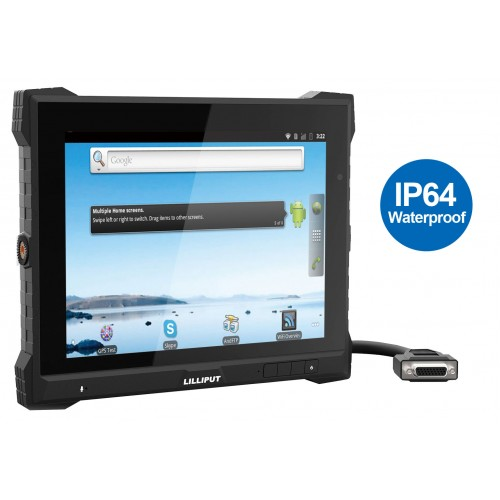 "Lilliput PC-9715 - 9.7"" IP 64 Rated Panel PC"