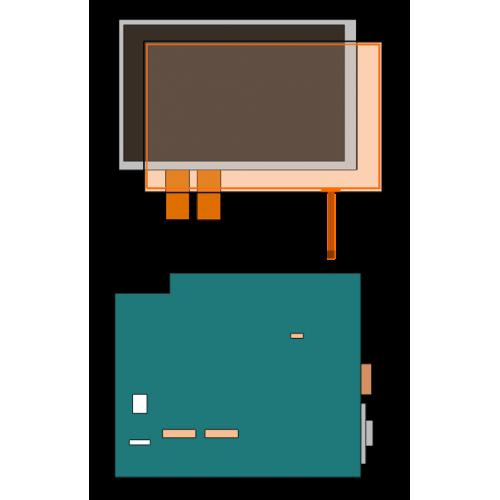 """Lilliput  7"""" HDMI touchscreen SKD Kit"""