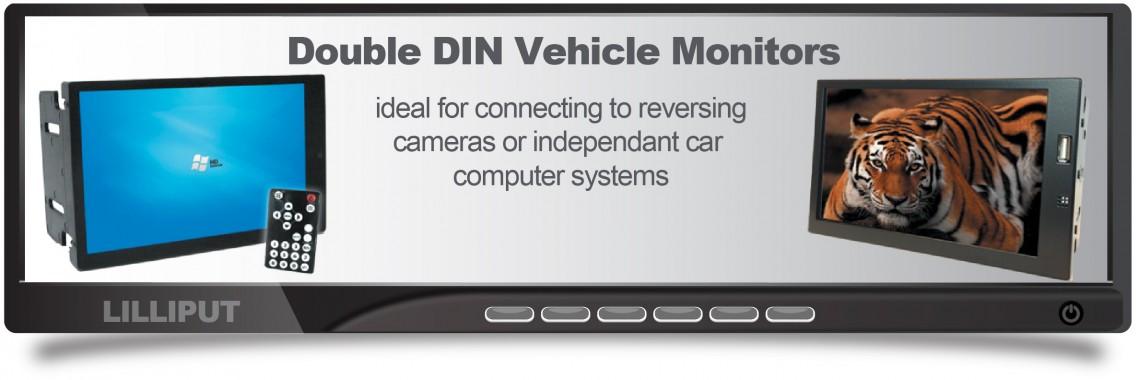 Double Din Monitors