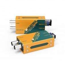 FE1121-12G - 12G-SDI Fiber Optic Extender Pair (Sender / Receiver Kit)