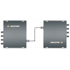 AVMatrix FE4141 - 4G SDI Extender over Fiber 4K