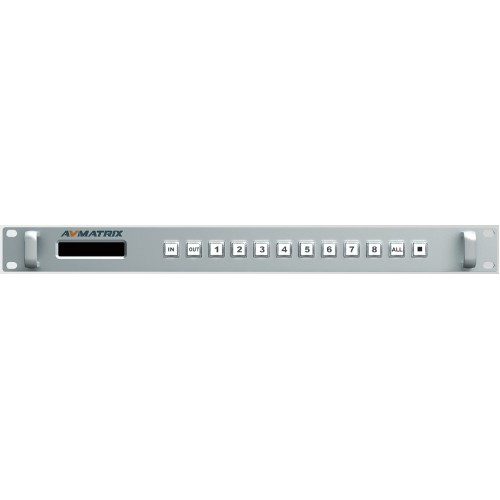 AVMatrix - MSS0811 - 8 x 8 3G SDI Matrix Switcher (YUV)