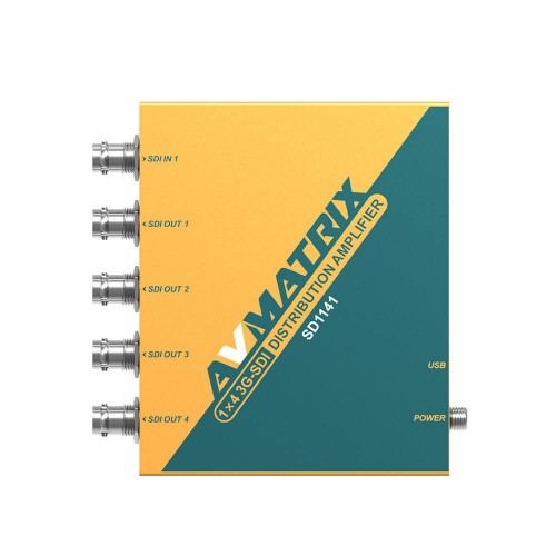 AVMatrix SD1141 - 1:4 3G SDI Distribution Amplifier
