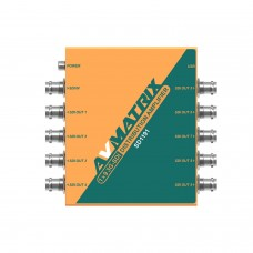 SD1191 - 1x9 SDI Reclocking Distribution Amplifier