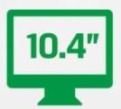 10 inch high definition screen